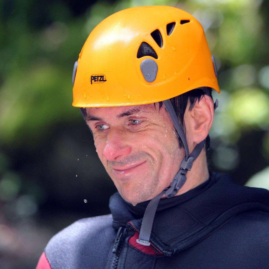 Nicolas Terrier, diplômé d'État Canyonisme, Spéléologie, Kayak