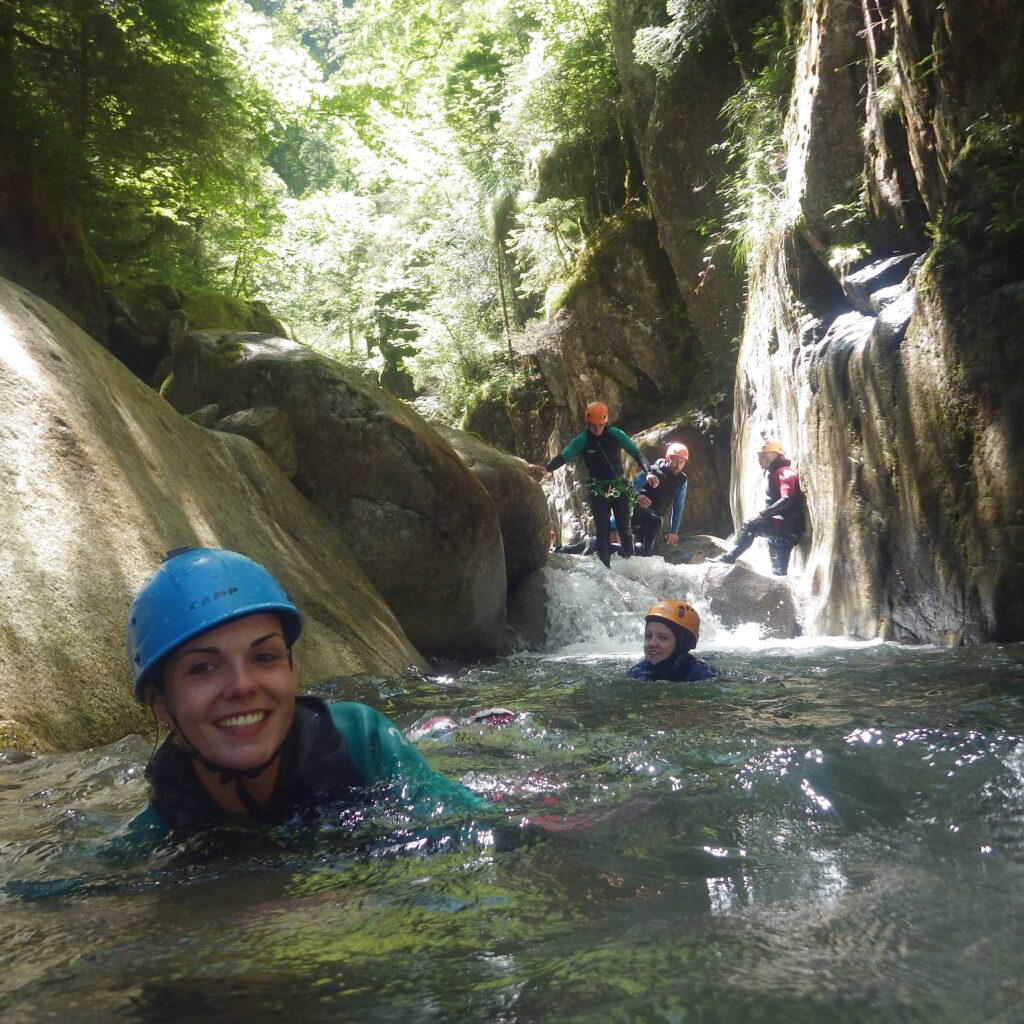 Un canyon en Vallée d'Ossau : le Soussouéou