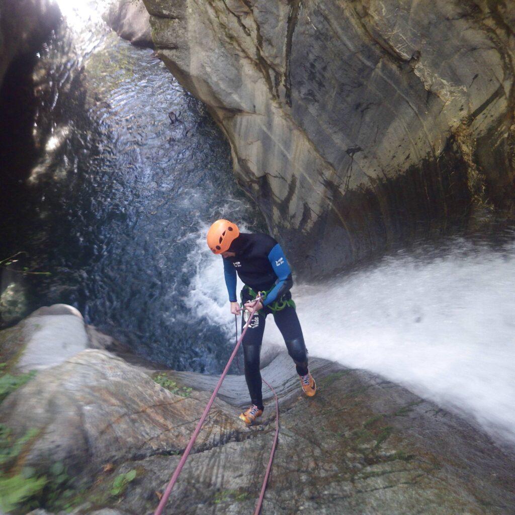 Canyoning sportif en Vallée d'Ossau