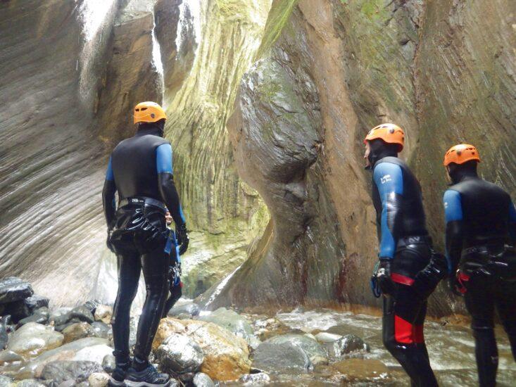 Canyon du Canceigt près de Laruns