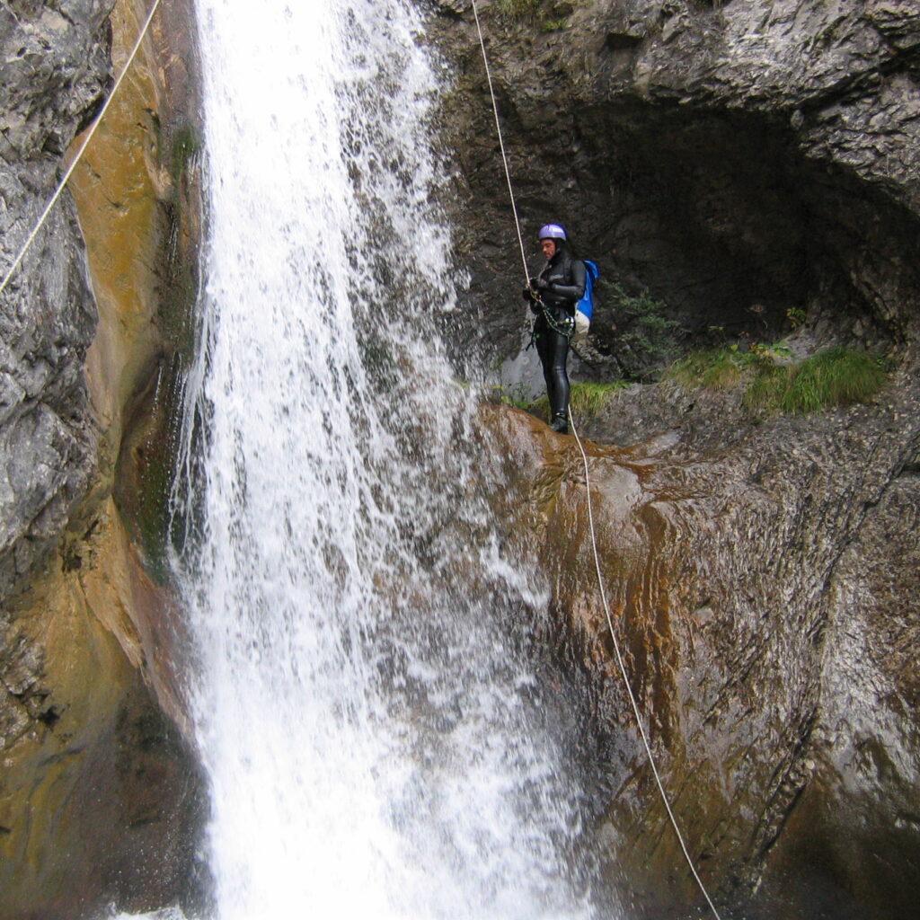 Canyon du Bitet dans le Sud-Ouest de la France