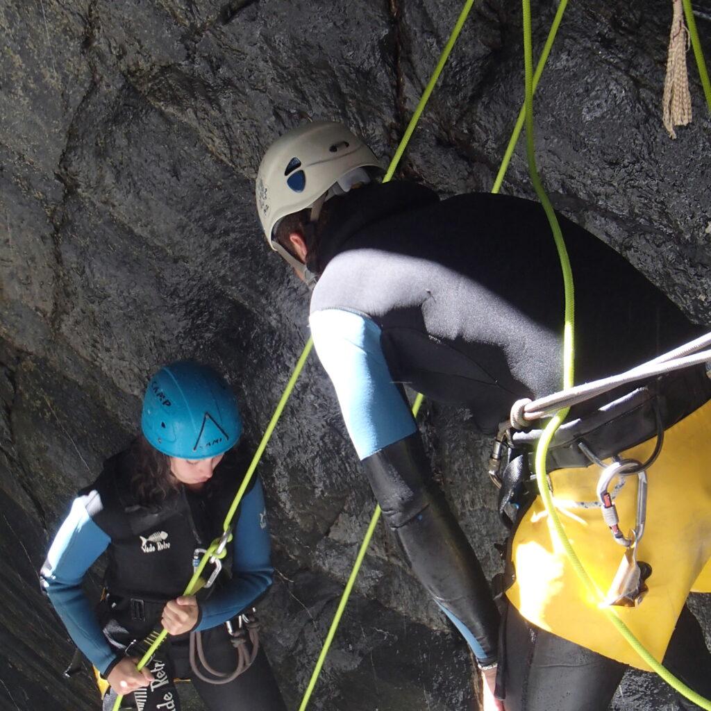 WE canyoning en Vallée d'Ossau